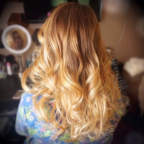 Long-Golden-Curls Best Hair Colors for Winter 2019: Hottest Hair Color Ideas