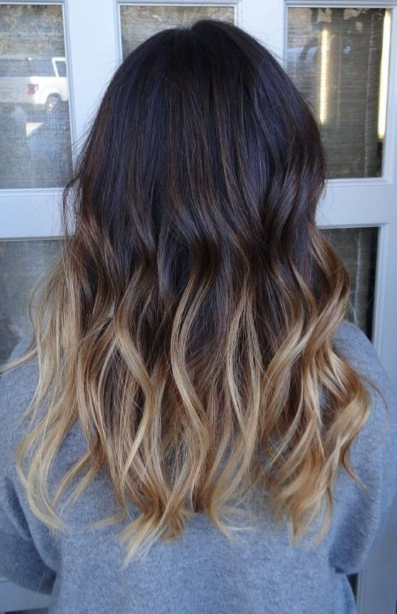 Long-Ombre-Wavy-Hairstyle Great Hairstyles for Medium Length Hair 2019