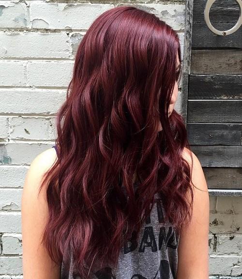 Mahogany-Mermaid Trendy Mahogany Hair Color Ideas