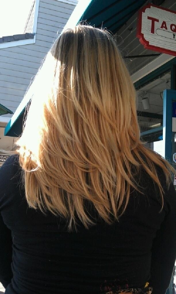 Medium-Layered-Hairstyle-1 Great Hairstyles for Medium Length Hair 2019