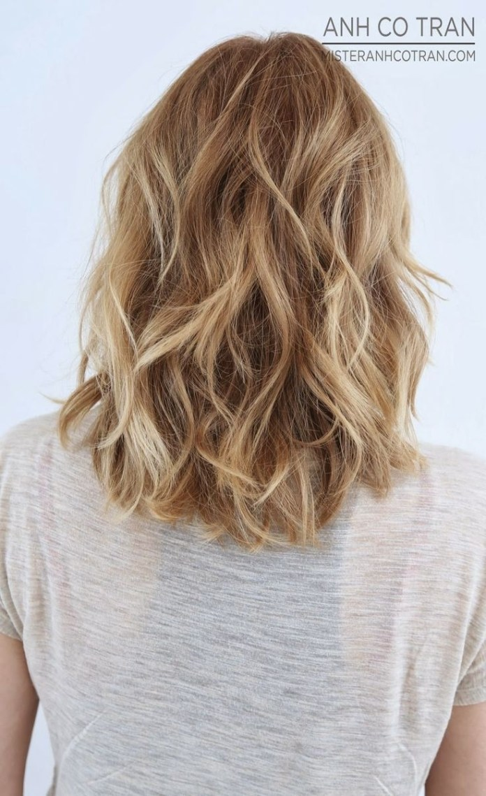 Medium-Wavy-Hairstyle Great Hairstyles for Medium Length Hair 2019