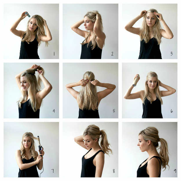 Messy-Ponytail Hair Tutorials to Style Your Hair
