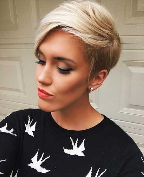 Nice-Short-Hairstyle-for-Oval-Faces Best Short Hairstyle Ideas for Oval Faces