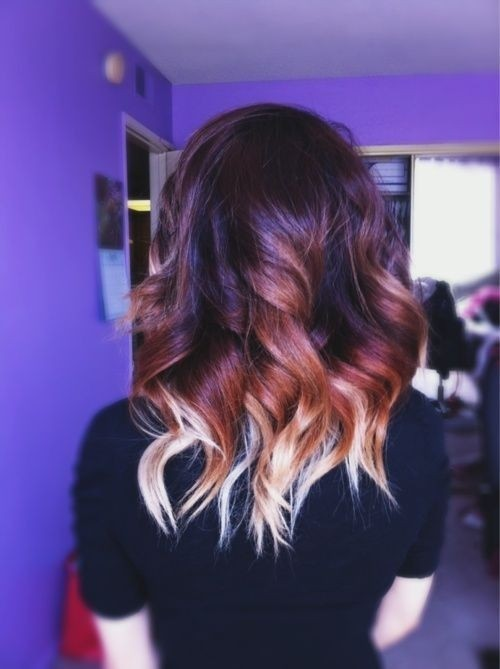 Ombre-Wavy-Hairstyle Great Hairstyles for Medium Length Hair 2019