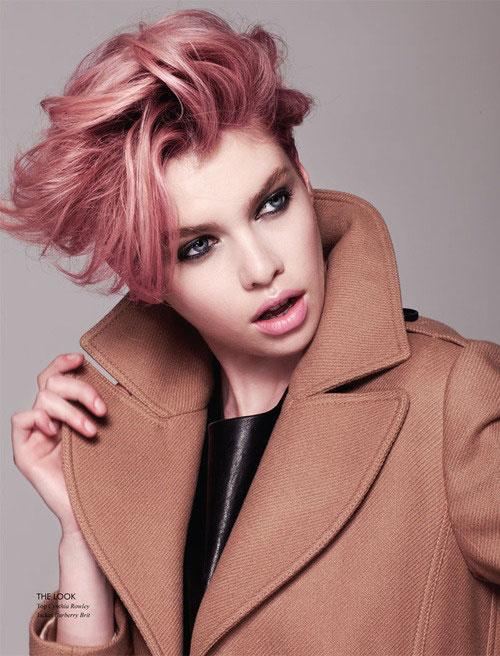 Pink-scene-hair-color-ideas Best Short Hair Color Trends 2019
