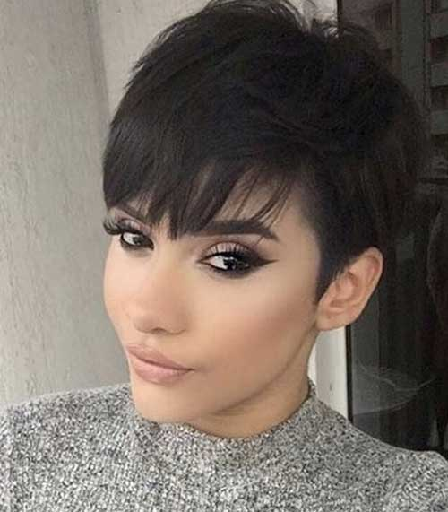 Pixie-Cut-Bangs Pixie Hairstyles for the Best View