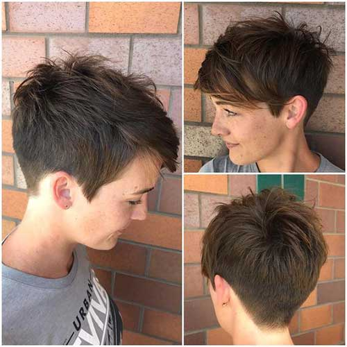 Pixie-Short-Hair-Spiky-Look Pixie Hairstyles for the Best View