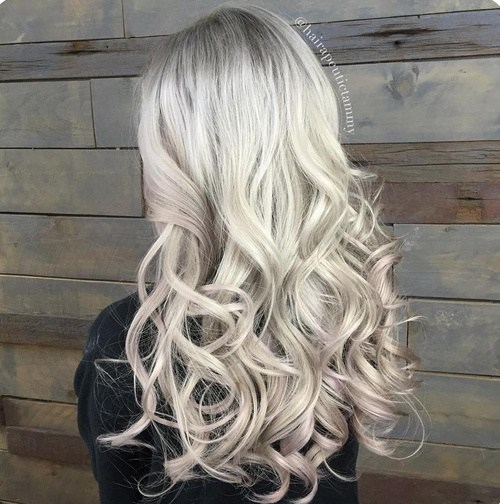 Platinum-Blonde Best Hair Colors for Winter 2019: Hottest Hair Color Ideas