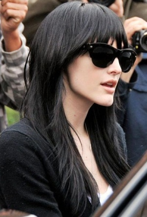 Pretty-Hairstyles-for-Black-Hair-Layered-Haircut-with-Wispy-Bangs Stunning Hairstyles for Black Hair 2019