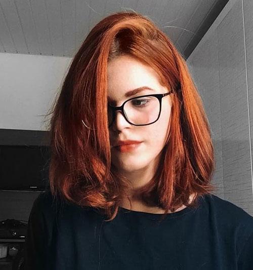 Red-Bob-Style-Haircut Latest Bob Style Haircuts
