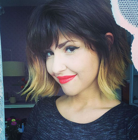 Short-Bob-Hairstyle-with-Bangs Trendiest Bob Haircuts for Women