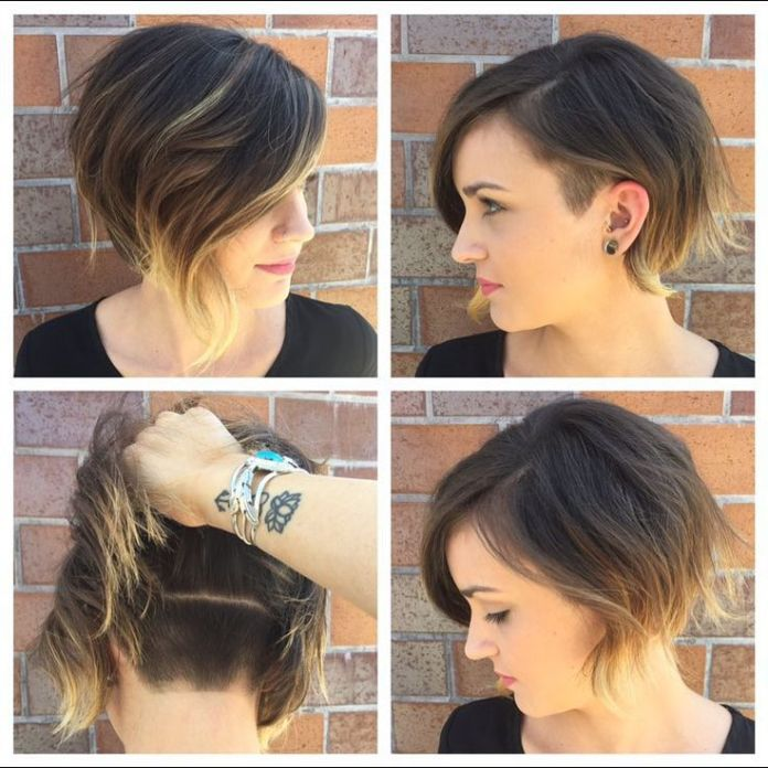 Short-Bob-Hairstyle-with-Highlights-1 Trendiest Bob Haircuts for Women
