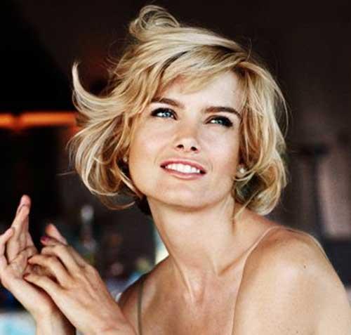 Short-Cute-Messy-Hair Messy Hairstyles for Short Hair