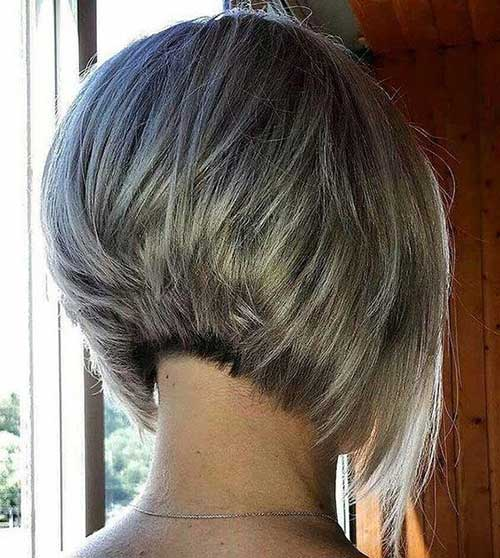 Short-Haircut-Back-View Short Hairstyles for Women Over 40 to Explore New Look