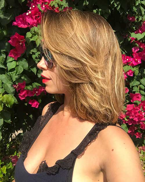 Short-Layered-Hair Popular Short Layered Hairstyle Ideas