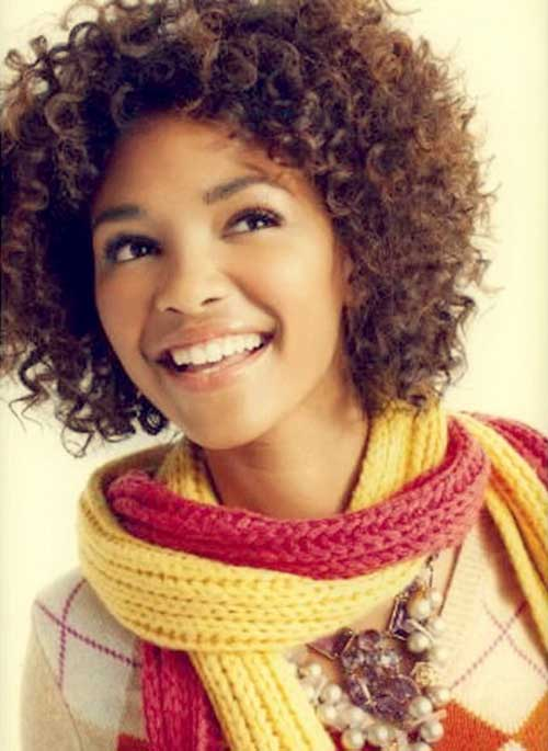 Short-Naturally-Curly-Hair-for-Cute-Girls Best Cute Girl Short Haircuts To Help You Out