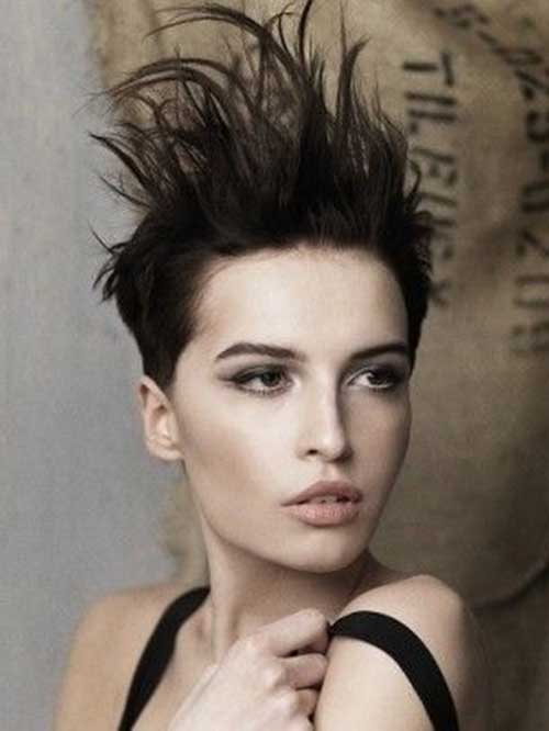 Short-Original-Messy-Hair Messy Hairstyles for Short Hair