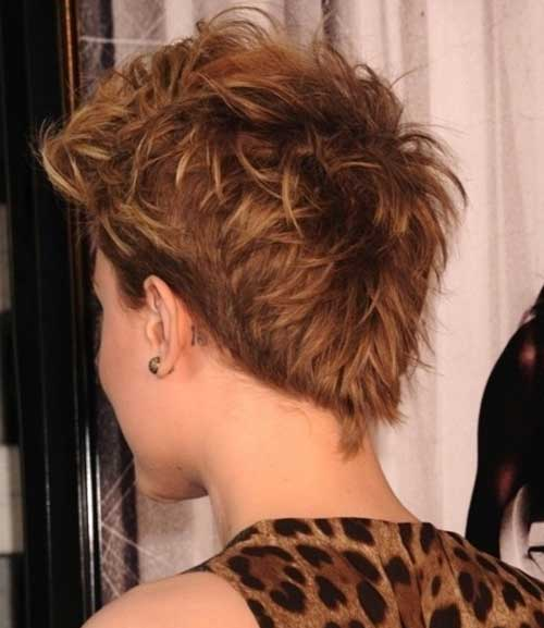 Short-Pointy-Messy-Hair Messy Hairstyles for Short Hair