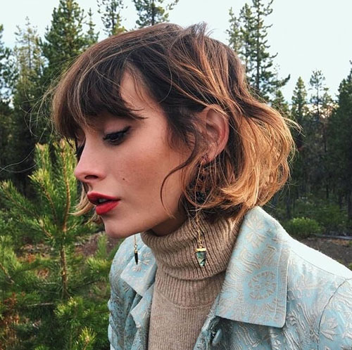 Short-Wavy-Hairstyle Latest Alternatives About Hairstyles for Short Wavy Hair 2019