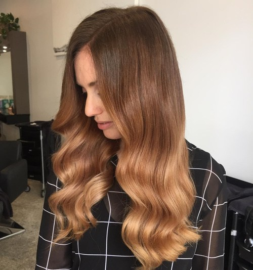 Soft-Brown-Ombre Best Hair Colors for Winter 2019: Hottest Hair Color Ideas