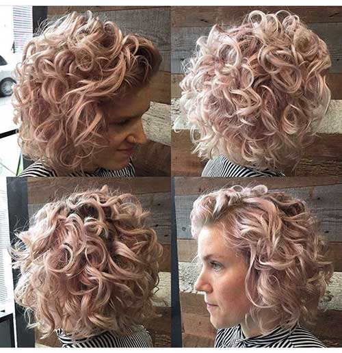 Thick-Hairstyle Best Short Haircuts for Women with Curly Hair