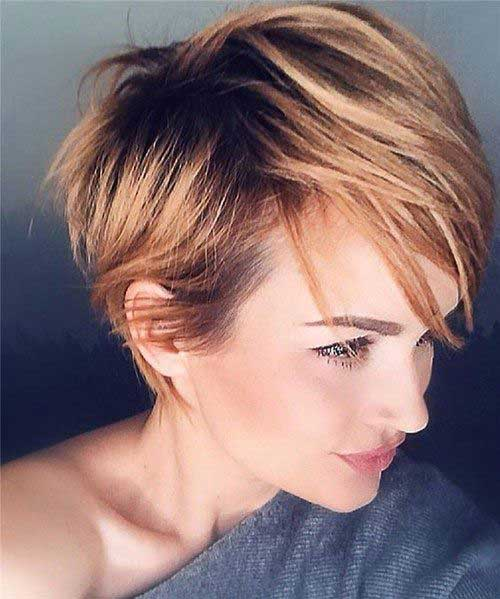 Trendy-Short-Hairstyle Pixie Hairstyles for the Best View