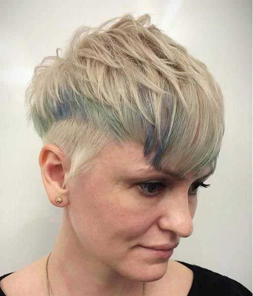 Undercut-Hair-Style Short Hairstyles for Women Over 40 to Explore New Look