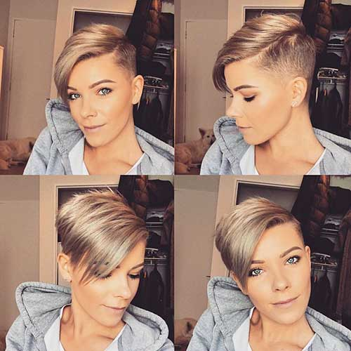 Undercut-Style-for-Oval-Faces Best Short Hairstyle Ideas for Oval Faces