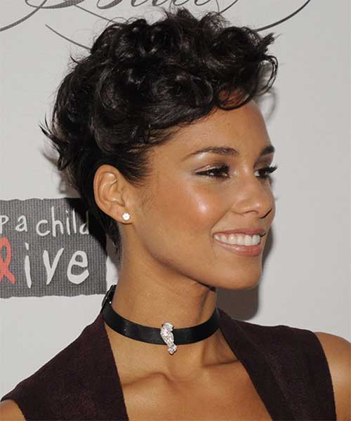 Very-Short-Tapered-Curly-Haircut-Idea Best Very Short Curly Hair
