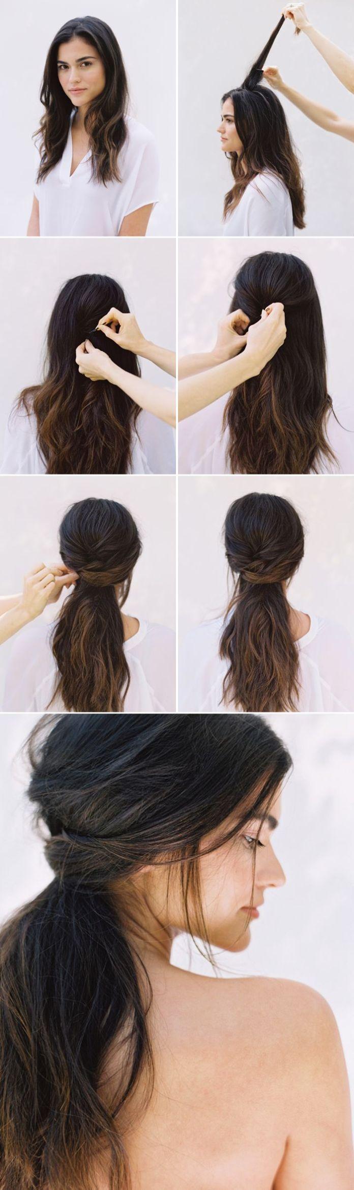 Wedding-Half-up-Half-down Hair Tutorials to Style Your Hair
