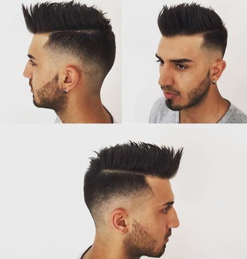 Windblown-Faux-Hawk Hottest Faux Hawk Hairstyles for Men