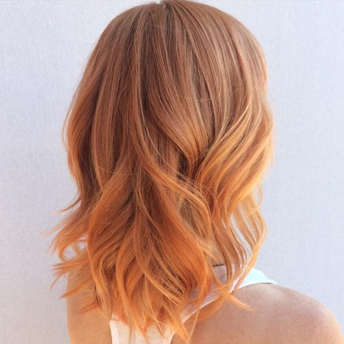 Winter-hair-color-ideas-Pretty-Red Best Hair Colors for Winter 2019: Hottest Hair Color Ideas