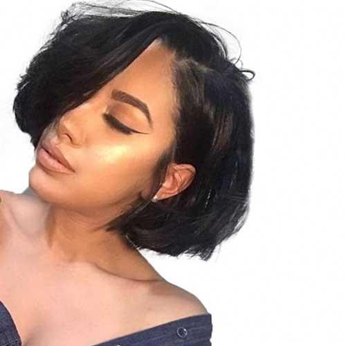 cute-hairstyles-for-short-black-hair Cute Short Black Haircut Ideas