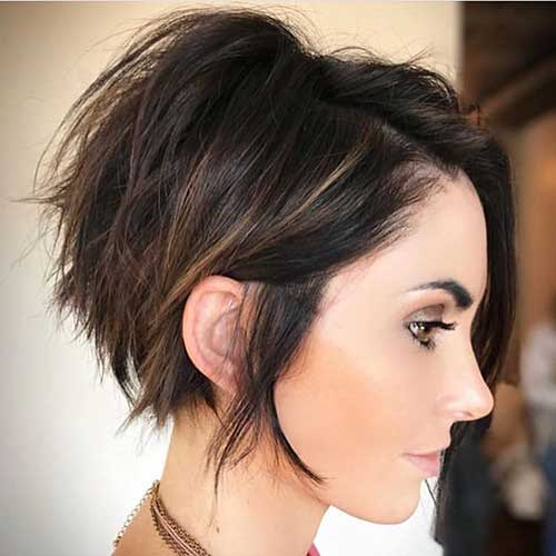 cute-hairstyles-for-short-layered-hair-1 Popular Short Layered Hairstyle Ideas