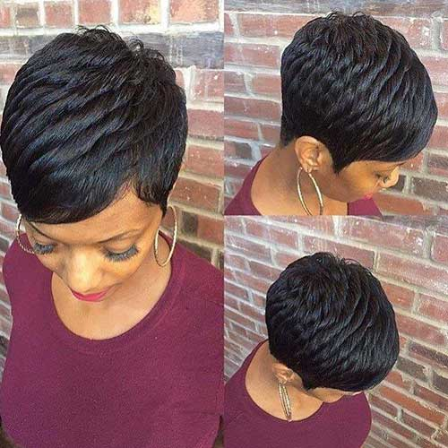 cute-short-hairstyles-for-black-females-2 Cute Short Black Haircut Ideas