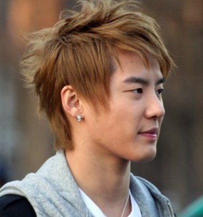 handsome-Asian-mens-hairstyle Cool Korean and Japanese Hairstyles for Asian Guys