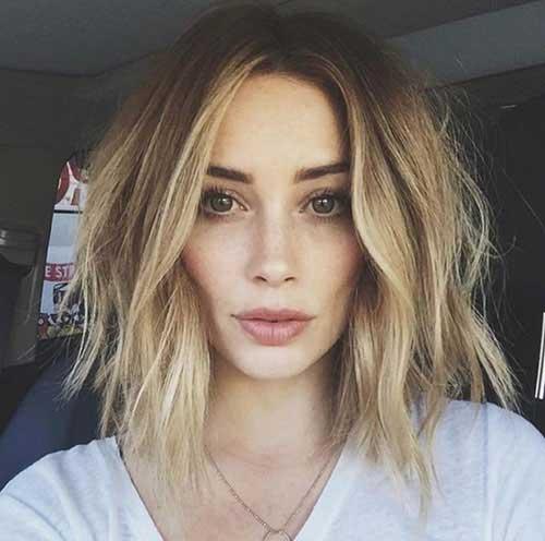 short-choppy-layered-bob-1 Popular Short Layered Hairstyle Ideas