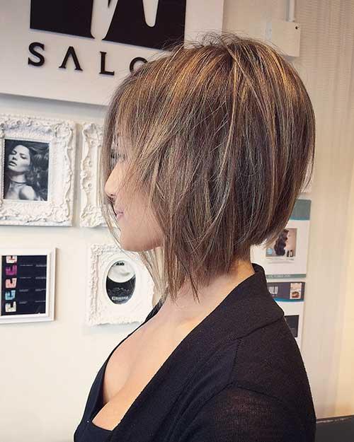short-choppy-layered-bob-3 Popular Short Layered Hairstyle Ideas