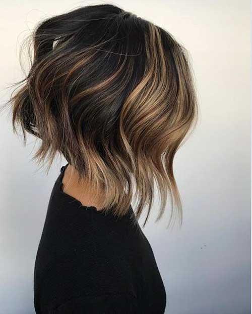 short-choppy-layered-bob-4 Popular Short Layered Hairstyle Ideas