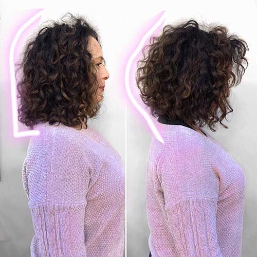 short-curly-hair-cuts-for-women-1 Best Short Haircuts for Women with Curly Hair