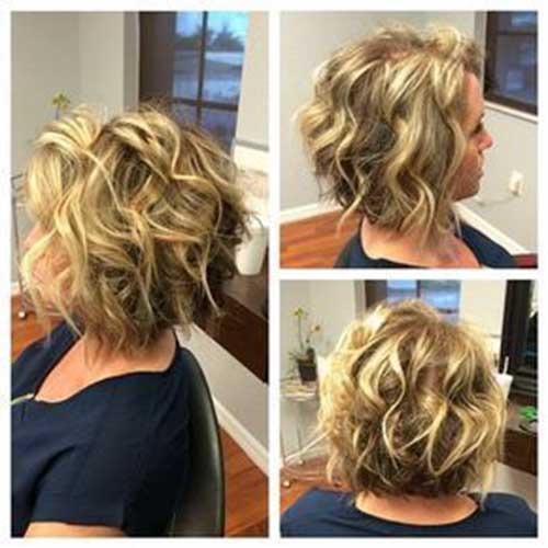 short-curly-hair-cuts-for-women Best Short Haircuts for Women with Curly Hair