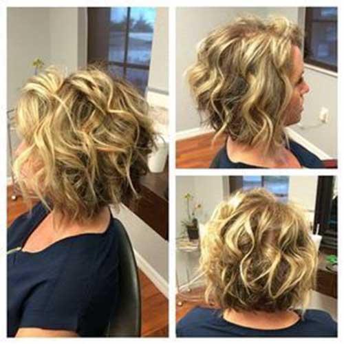 short-curly-hair-cuts-for-women Best Short Haircuts for Women with Curly Hair