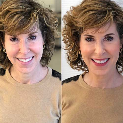 short-haircuts-for-women-with-curly-hair-2 Best Short Haircuts for Women with Curly Hair