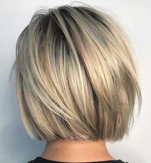 short-medium-layered-haircuts Popular Short Layered Hairstyle Ideas