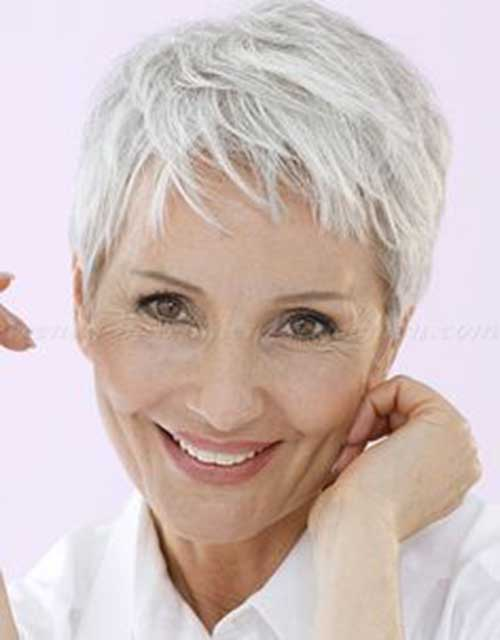 26.Pixie-Haircuts-for-Older-Ladies Cool Pixie Haircut for Older Ladies