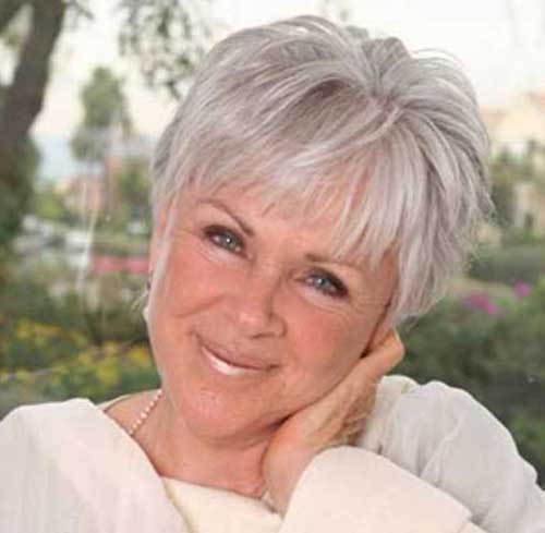 9.Pixie-Haircuts-for-Older-Ladies Cool Pixie Haircut for Older Ladies