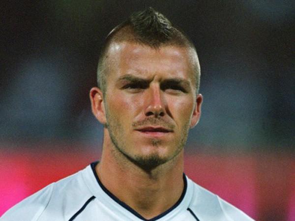 Beckham's-Mohawk David Beckham's Trendsetter Hairstyles