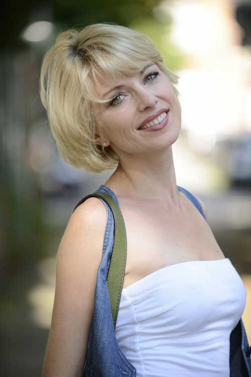 Best-Short-Haircut-for-Women-Over-40 Short Hair Styles for Women Over 40