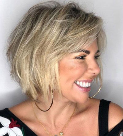 Blonde-Bob-1 Top Short Hairstyles for Fine Thin Hair