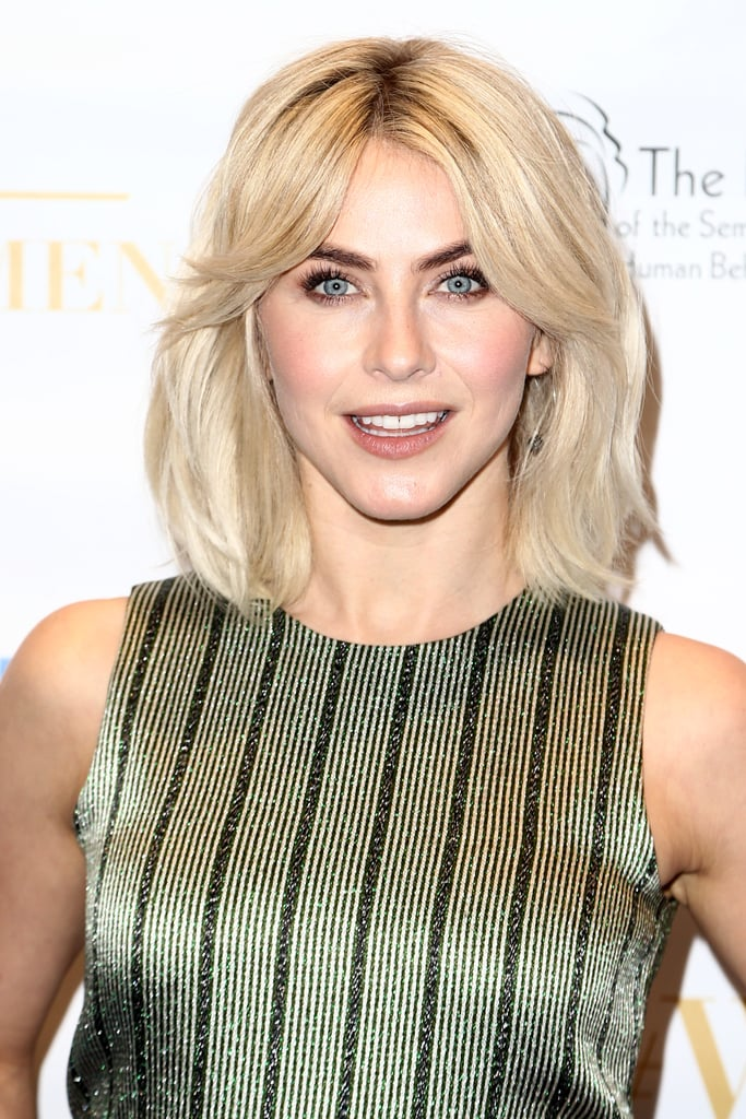 Casual-Hairstyle Ravishing and Roaring Julianne Hough Hairstyles
